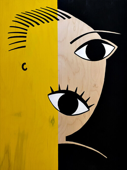 מבט-צהוב