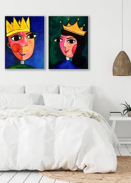 מלך-ומלכה-חדר-שינה