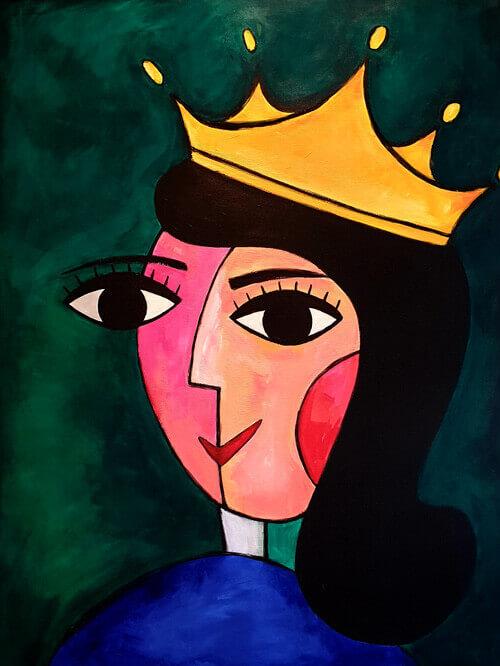 מלכה-